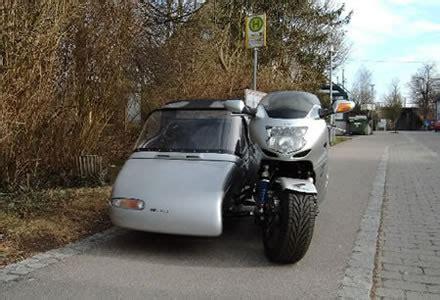 Universal Gepäckträger Motorrad by Honda Xx Mit Eml Seitenwagen Das Hightech Gespann