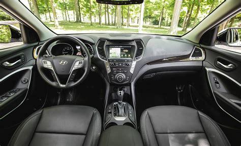 Hyundai Santa Fe Interior by 2017 Hyundai Santa Fe Cars Exclusive And Photos