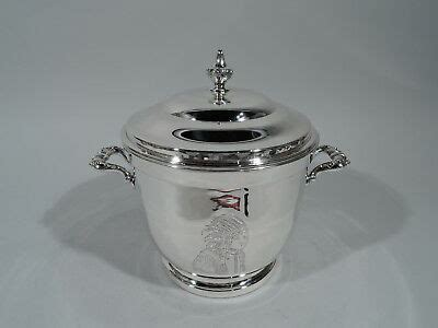 Sterling Silver Barware by Poole 55 Indian Chief Barware