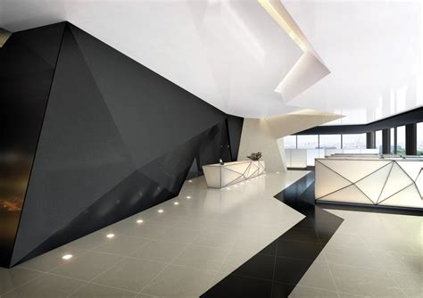 futuristic interior design himacs microsoft briefing center breathtaking