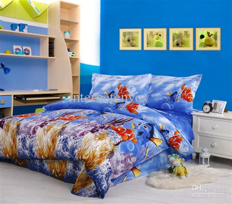 finding nemo bedroom set blue finding nemo cotton home textile bed in a bag king
