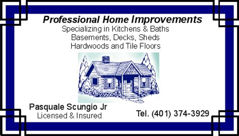 professional home improvements home