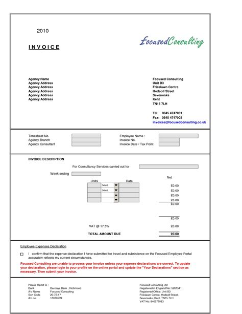 software consulting invoice template sle consultant invoice excel based consulting invoice