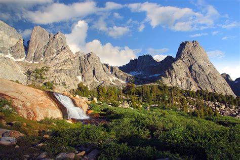 wind river cirque of the towers wind river range western