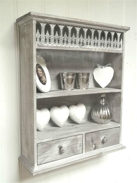 cabinet with shelf unit shabby chic wall unit shelf storage cupboard cabinet