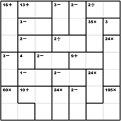 printable kenken sudoku math worksheet answers education world sudoku