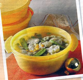 Mangkuk Sup Keramik 280ml Putih sup mangkuk makaroni