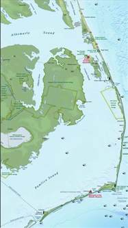 map of the outer banks of carolina vacation planning tips outer banks carolina