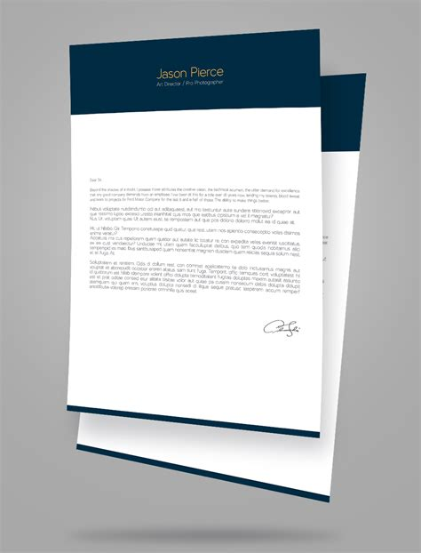 letter design template creative resume cv design cover letter template 4 psd