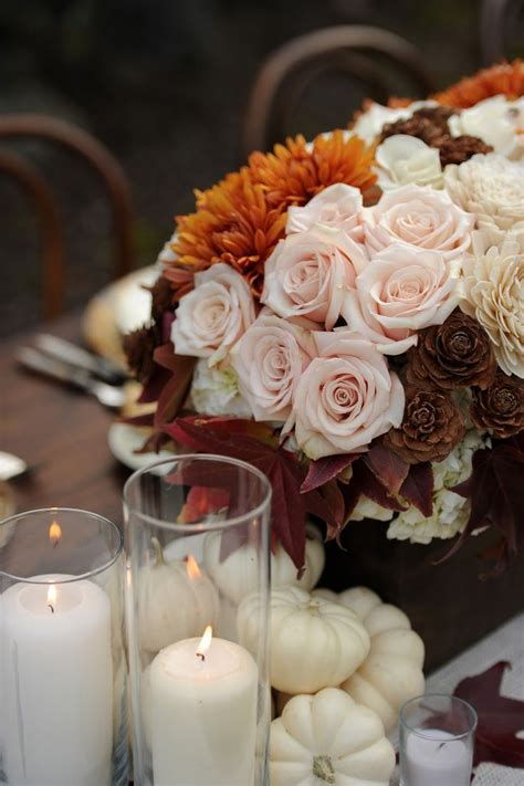 17 Best images about Autumn Elegant White Pumpkin Wedding