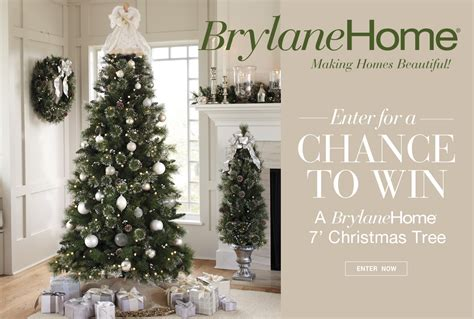 brylanehome christmas tree giveaway