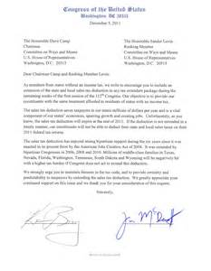 Appreciation Letter To Committee Members U S Congressman Michael C Burgess 26th District Of Texas
