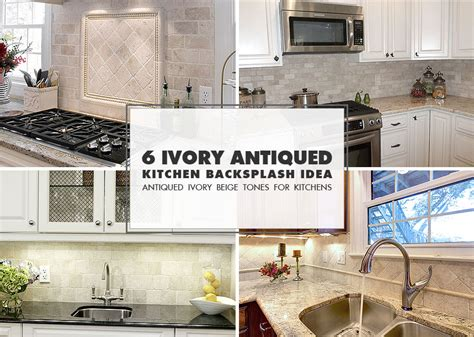 ivory subway tile backsplash 6 antiqued ivory subway backsplash tile idea backsplash