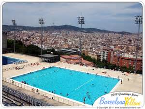 barcelona schwimmbad barcelona 2015 olympic diving swimming pool montjuic