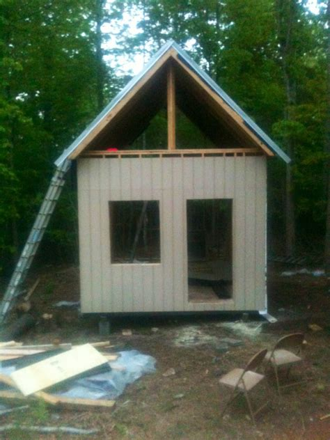 12x16 Cabin With Loft by 12x16 Cabin In Va Small Cabin Forum 1