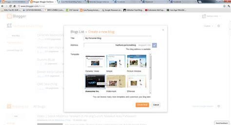 cara membuat blog gratis mudah dan cepat cara membuat blog gratis dengan mudah dan cepat tn robby