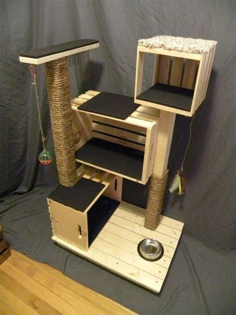 Handmade Cat Tree - best 25 diy cat tree ideas only on