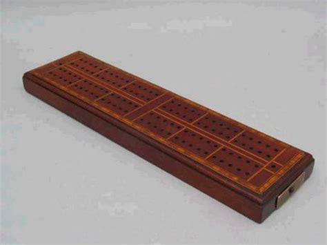 antique cribbage board for sale antiques