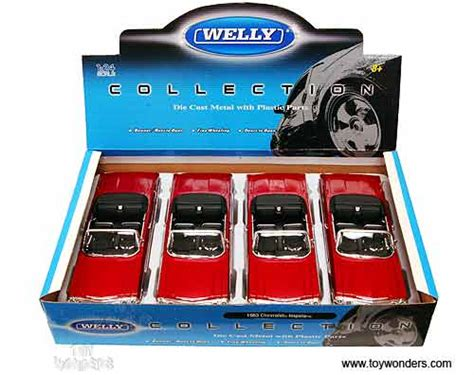Welly Chevrolet Custom Decal 1963 chevy impala convertible by welly 1 24 scale diecast