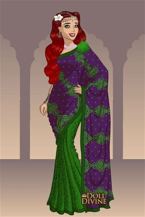 Syar I Gamis Dress saris ariel and merida on
