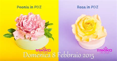 fiori in pdz corsi cake design mikiko cake design bologna