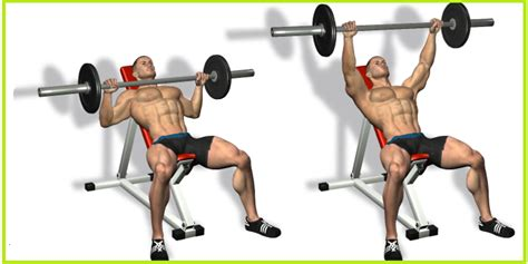 incline barbell bench press superset chest workout the best 4 supersets for bigger