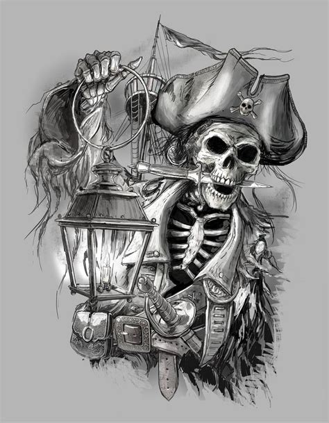 pirate skull tattoo best 25 pirate skull tattoos ideas on pirate