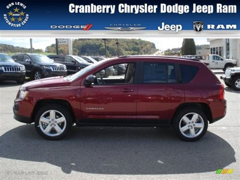 jeep compass limited red deep cherry red jeep compass images