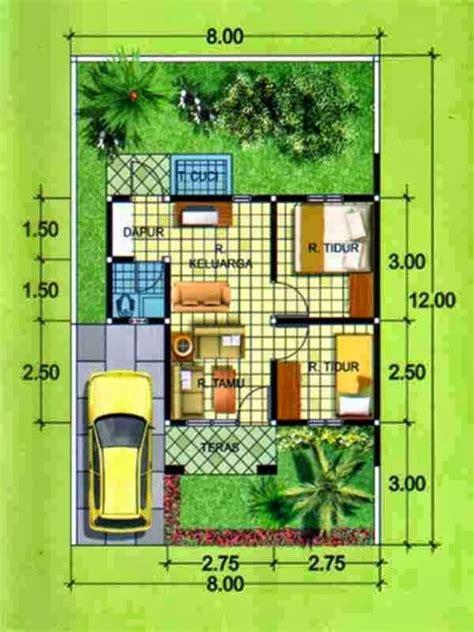 desain rumah minimalis 1 lantai 3 kamar tidur gambar foto desain rumah