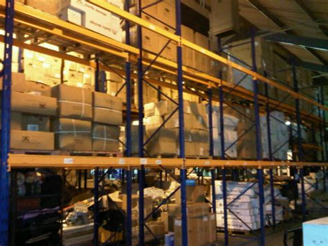 Used Warehouse Racking by Used And Second Racking And Shelving Recycled