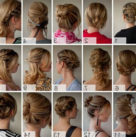 quick and easy hairstyles at home inspirational quick and easy hairstyles for short hair 71