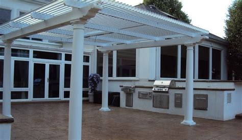 Aluminum Louvered Awnings by Louvered Awnings Shade And Shutter Systems Inc New Massachusetts Cape Cod