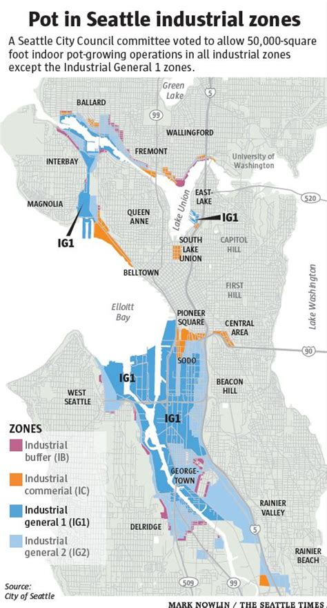 seattle zoning map seattle marijuana zoning just words on paper without