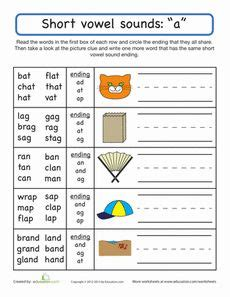 1000 images about worksheets on word families