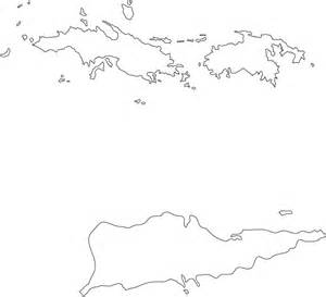 Us Islands Outline Map by Blank Map Of Us Islands