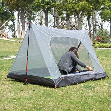 Tenda Range Ultraligh Tent ultralight mosquito net tent 1 2 summer transparent cing tents breathable gauze