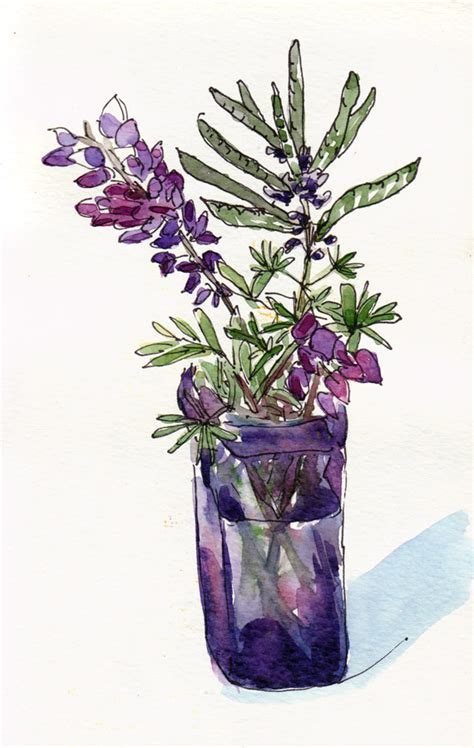 Where To Buy Flower Vases Gone Wild With Wildflowers And Watercolor Part 2 Jana