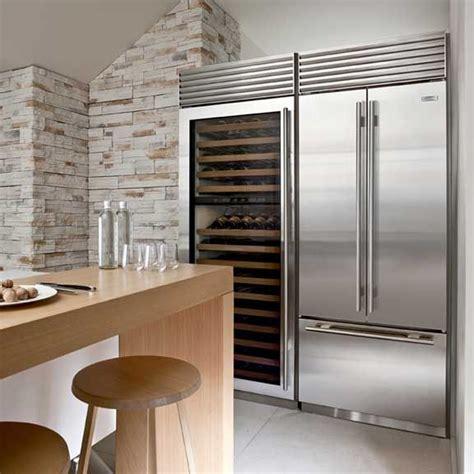 installing wine fridge in sub zero stainless steel fridge and wine refrigerator