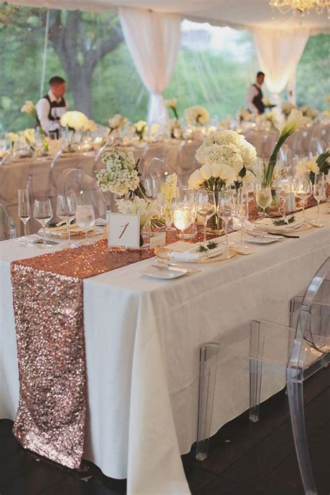 blush sequin table runner blush gold sequin table runner and tablecloth