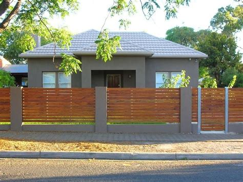 best 25 front fence ideas on pinterest contemporary fencing and gates modern fence design
