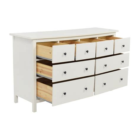 used ikea furniture 43 off ikea ikea hemnes eight drawer dresser storage
