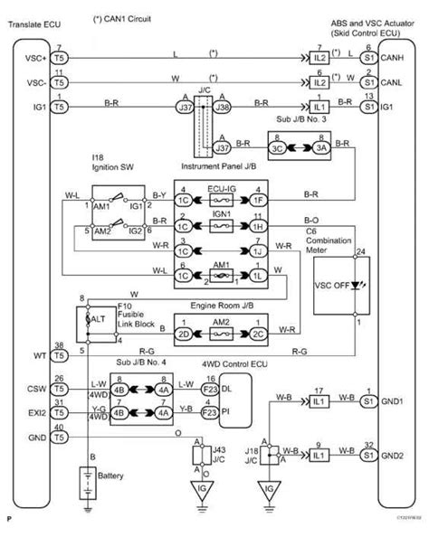 wiring diagram for 2006 toyota sequoia 2004 toyota sequoia