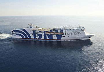 gnv la suprema grandi navi veloci prenotazione traghetti orari e biglietti