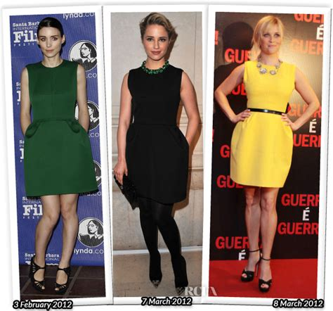 Who Wore Better Carpet Style Awards by Who Wore Louis Vuitton Better Rooney Mara Dianna Agron