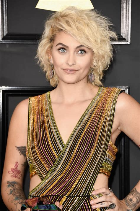 paris jackson s natural charisma at the grammy awards