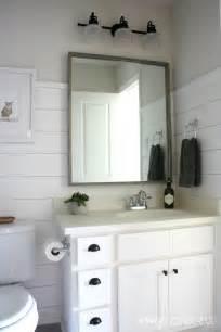 Shiplap Walls In Bathrooms Shiplap Boy S Bathroom Reveal Wonderful