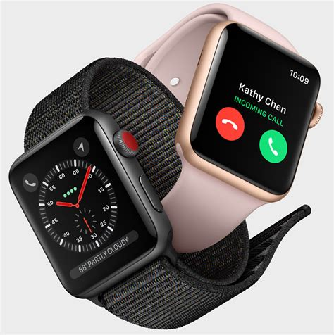 Smartwatch Apple Series 3 Apple Series 3 With Built In Cellular Means Standalone Smartwatch Ablogtowatch