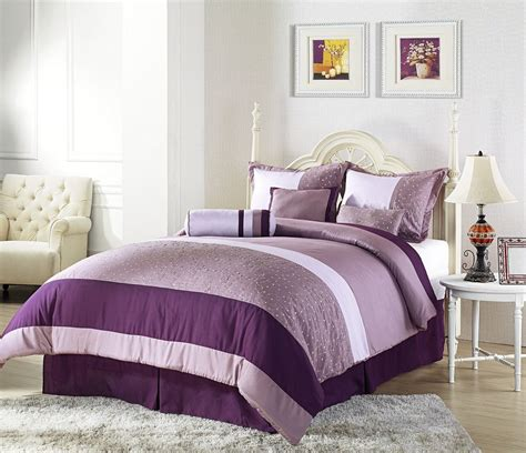 wide ranges  inspiring purple bedroom ideas