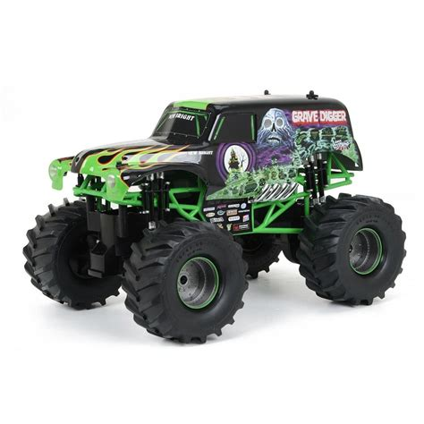 jam grave digger remote truck remote car for boys big grave digger and 50