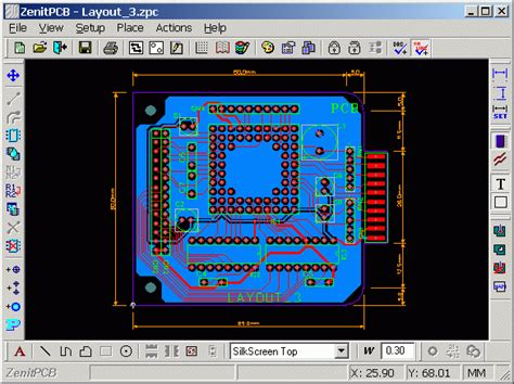 free cmos layout design software 10 free pcb design software